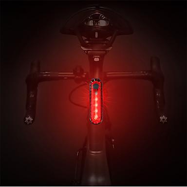 ieftine Lumini de Bicicletă-LED Lumini de Bicicletă Iluminat Bicicletă Spate lumini de securitate luminile din spate Ciclism montan Bicicletă Ciclism Rezistent la apă Portabil Eliberare rapidă Durabil USB 1000 lm Alb Roșu