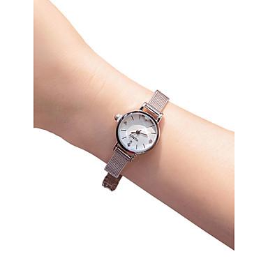 Žene Ručni satovi s mehanizmom za navijanje Kvarc Nehrđajući čelik Srebro 30 m Kreativan New Design Analog dame Vintage Moda - Obala Crn