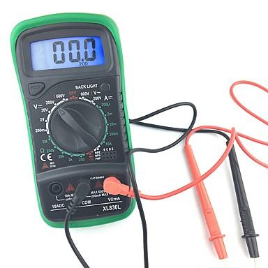 1 pcs Plastika Digitalni multimetar / Infracrveni termometar Mjerica / Pro XL830L