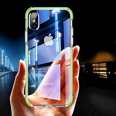 Θήκη Za Apple iPhone XS / iPhone XR / iPhone XS Max Otporno na trešnju / Prozirno Stražnja maska Jednobojni Mekano TPU