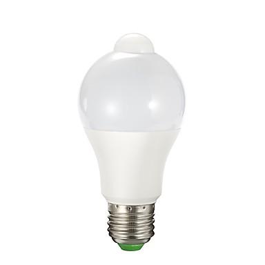 1PC 9 W مصابيح صغيرة LED 850 lm E26 / E27 A60(A19) 12 الخرز LED SMD 2835 الأشعة تحت الحمراء الاستشعار أبيض دافئ أبيض 90-240 V