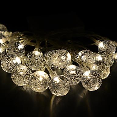 2.5m Žice sa svjetlima 20 LED diode Toplo bijelo Ukrasno 220-240 V 1set