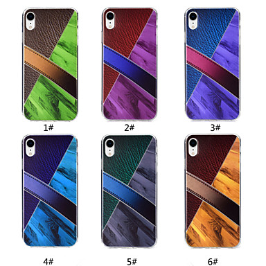 Θήκη Za Apple iPhone XR / iPhone XS Max Uzorak Stražnja maska Mramor Mekano TPU za iPhone XR / iPhone XS Max