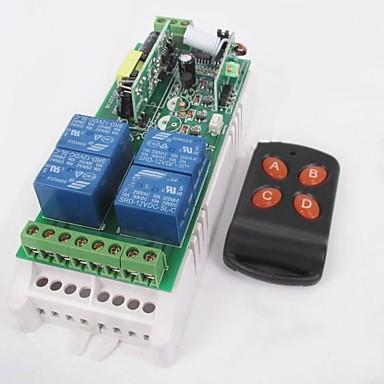 220v 4-smjerni daljinski upravljač prekidač leptir 4 gumba bežični daljinski upravljač set