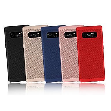 Недорогие Чехлы и кейсы для Galaxy Note-Кейс для Назначение SSamsung Galaxy Note 9 / Note 8 / Note 5 Ультратонкий Кейс на заднюю панель Однотонный Твердый ПК