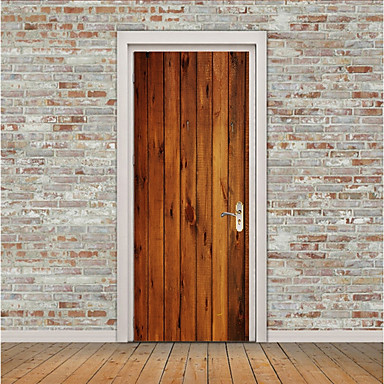 Vrata za vrata - 3D zidne naljepnice Životinje / 3D Spavaća soba / Ured