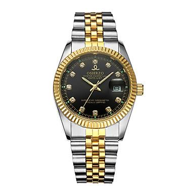 Muškarci Ručni satovi s mehanizmom za navijanje Kvarc Srebro / Zlatna 30 m Kalendar Kreativan Analog Luksuz Moda - Zlato Crn Pink