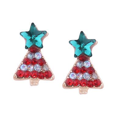 Žene Sitne naušnice fantazija dame Naušnice Jewelry Crvena Za Božić 1 par