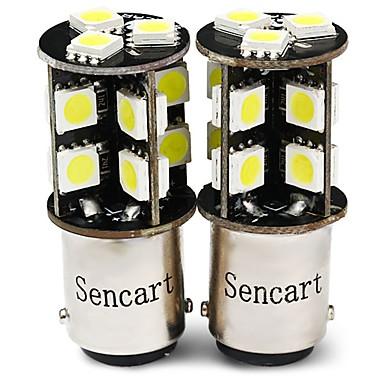 voordelige Motorverlichting-SENCART 2pcs T20 (7440,7443) / BA15S (1156) / BAY15D (1157) Motor / Automatisch Lampen 4 W SMD 5050 380 lm 19 LED Richtingaanwijzerlicht / Werklamp / Motor Voor