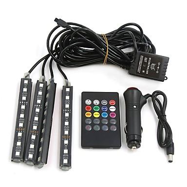 voordelige Motorverlichting-4pcs Motor / Automatisch Lampen 10 W SMD 5050 800 lm 9 LED Interior Lights Voor Universeel Universeel Alle jaren / Universeel