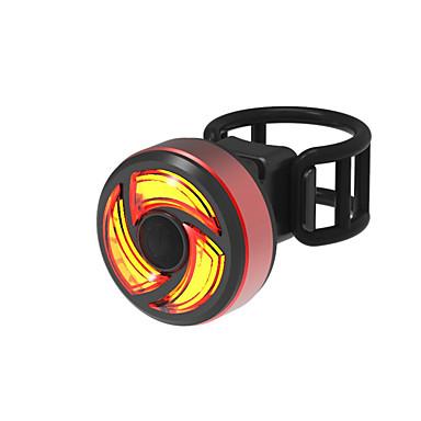 LED Svjetla za bicikle Stražnje svjetlo za bicikl Biciklizam Vodootporno Quick Release Mala težina Li-ion 100 lm USB napajanje Crveno Kampiranje / planinarenje / Speleologija Biciklizam