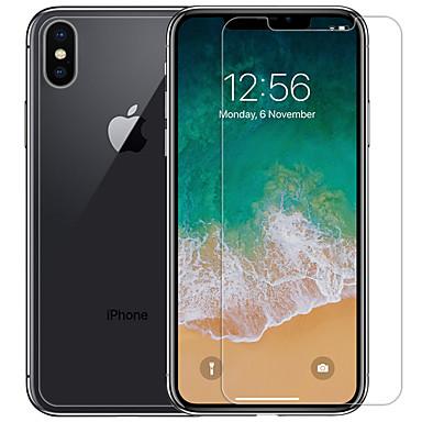 voordelige iPhone screenprotectors-nillkin screen protector voor apple iphone xs max huisdier 1 pc voorkant& rugbeschermer ultradun / mat / krasbestendig