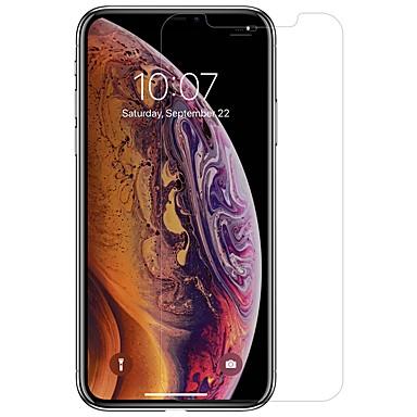voordelige iPhone screenprotectors-nillkin screen protector voor apple iphone xr pet 1 pc voorkant& cameralensbeschermer high definition (hd) / ultradun / krasbestendig