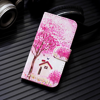 Θήκη Za Apple iPhone XS / iPhone XR / iPhone XS Max Novčanik / Utor za kartice / sa stalkom Korice drvo Tvrdo PU koža