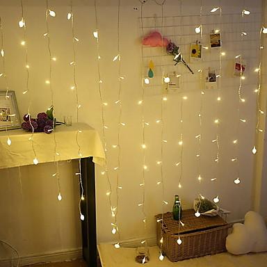 2m Žice sa svjetlima 138 LED diode Toplo bijelo Ukrasno 220-240 V 1set
