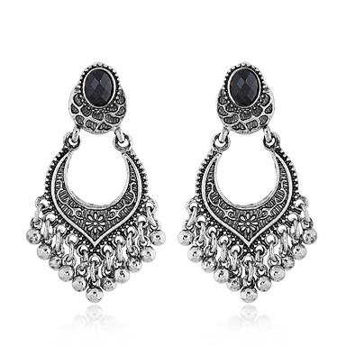 Žene Viseće naušnice Retro dame Vintage Europska Moda Naušnice Jewelry Zlato / Pink Za Kauzalni Dnevno 1 par