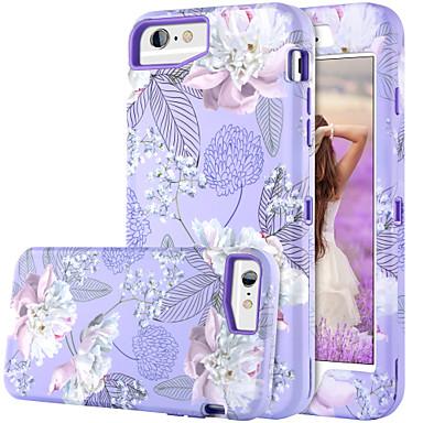 Θήκη Za Apple iPhone 8 Plus / iPhone 7 Plus / iPhone 6s Plus Otporno na trešnju / Uzorak / Wireless Charging Receiver Case Korice Cvijet Tvrdo TPU / PC