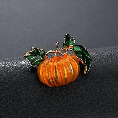 Muškarci Broševi Klasičan Cvjetni Tema dame Stilski Klasik Broš Jewelry Yellow and Green Za Halloween