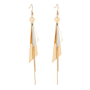 Žene Viseće naušnice Long dame Europska Moda Elegantno Naušnice Jewelry Zlato Za Kauzalni Dnevno 1 par