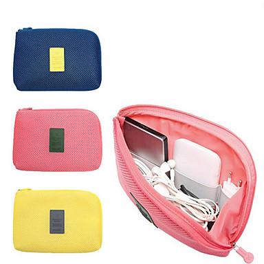olcso Utazó bőröndök-Utazótáska / Utazásszervező Nagy kapacitás / Gyors szárítás / Lagani materijali USB / Mobiltelefon Terylene Utazás / Tartós