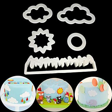 5pcs plastika Slatko Kreativan Uporaba Torta / kolači Cube Torte za kalupe Bakeware alati