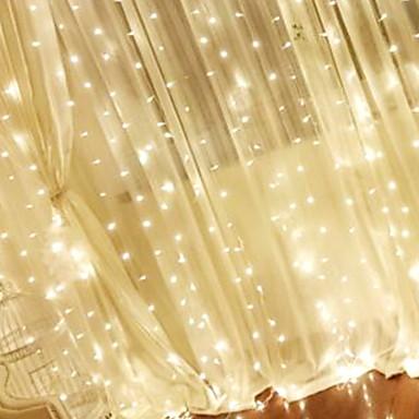 3M Žice sa svjetlima 304 LED diode Toplo bijelo Ukrasno 220-240 V 1set