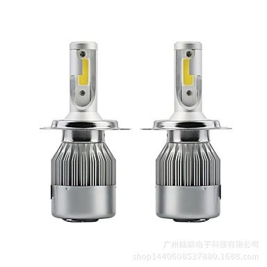 זול תאורה קדמית לרכב-SENCART 2pcs H16 / 9007.0 / P13W אופנוע / מכונית נורות תאורה 36 W לד משולב / COB 3800 lm 2 LED / הלוגן אורות ערפל / אורות יום / פנס ראש עבור