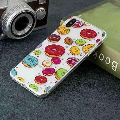 Θήκη Za Apple iPhone XS / iPhone XR / iPhone XS Max Prozirno / Uzorak Stražnja maska Hrana Mekano TPU