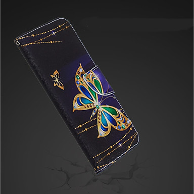 Θήκη Za Apple iPhone XR / iPhone XS Max Novčanik / Utor za kartice / sa stalkom Korice Rukav leptir Tvrdo PU koža za iPhone XS / iPhone XR / iPhone XS Max