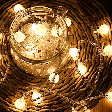 10m Žice sa svjetlima 100 LED diode Toplo bijelo Ukrasno 220-240 V 1set