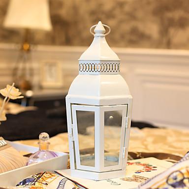 Modern / Comtemporary / Europska Style Reciklirani papir / Željezo Svijećnjaci Ručno izrađen / Svijećnjak / Zavjetni 1pc, Držač svijeća / svijećnjak
