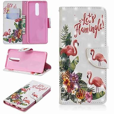 Θήκη Za Nokia Nokia 5.1 / Nokia 3.1 / Nokia 2.1 Novčanik / Utor za kartice / sa stalkom Korice Flamingo Tvrdo PU koža