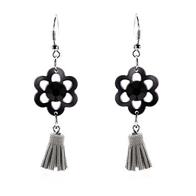 Žene Crn Viseće naušnice dame Nature pomodan Ruski Naušnice Jewelry Crn Za Nova Godina Festival 2pcs
