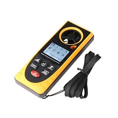 gm8910 višenamjenski digitalni anemometar brzina zraka temperatura vlažnost vjetar chill točka rosišta barometarski tlak tester