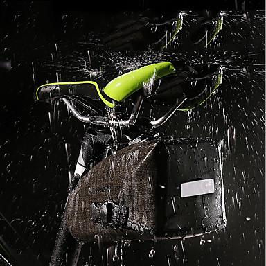 Wheel up Bike Saddle Bag Vodootporno Prijenosno Mala težina Torba za bicikl TPU Najlon Torba za bicikl Torbe za biciklizam Biciklizam Bicikl / Reflektirajuće trake