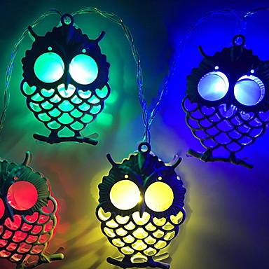 1.5m Žice sa svjetlima 10 LED diode Više boja Ukrasno AA baterije su pogonjene 1set