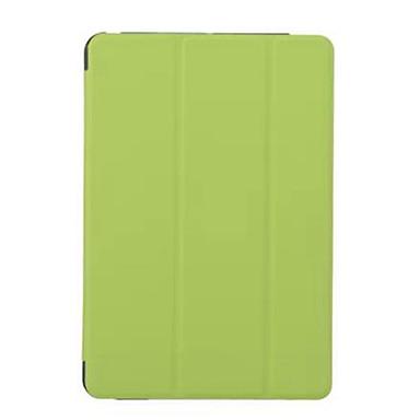 رخيصةأون أغطية أيباد-غطاء من أجل Apple ايباد ميني 5 / iPad New Air (2019) / iPad Air مع حامل / قلب / أورجامي غطاء كامل للجسم لون سادة / زهور قاسي جلد PU / iPad Pro 10.5 / iPad (2017)