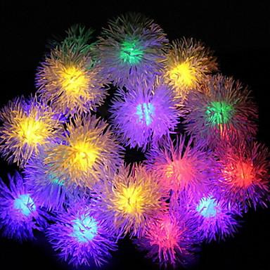5m Žice sa svjetlima 20 LED diode Više boja Sunce / Ukrasno Napelemes 1set