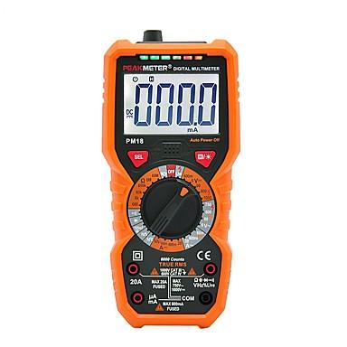 digitalni multimetar peakmeter pm18c istinski rms ac / dc napon mjerač pm890d kapacitivnost frekvencija temperatura ncv tester