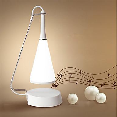1pc Noćno svjetlo za stol Bijela USB Može se puniti / Zatamnjen / Dodirni senzor <5 V