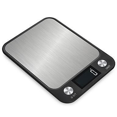 changxie cx-2018 10kg / 1g kuhinjska vaga elektroničke precizne mjere alati ravnoteža digitalni gram kuhanje hrane staklo LCD zaslon