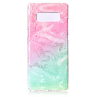 Θήκη Za Samsung Galaxy Note 9 / Note 8 Uzorak Stražnja maska Mramor Mekano TPU