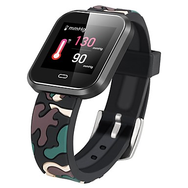 cd16 pametni sat bt fitness tracker podrška obavijesti / monitor brzine otkucaja sporta smartwatch kompatibilan s iphone / samsung / android telefonima