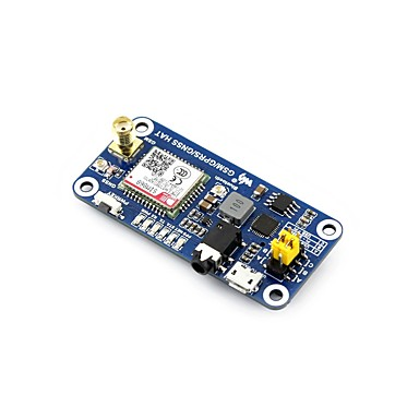 gsm / gprs / gnss / bluetooth šešir za malina pi, baziran na sim868