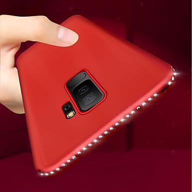 Θήκη Za Samsung Galaxy S9 / S9 Plus / S8 Plus Ultra tanko / Mutno Stražnja maska Umjetno drago kamenje Mekano TPU