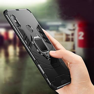 Θήκη Za Xiaomi Xiaomi Mi Max 3 / Xiaomi Mi 8 / Xiaomi Mi 8 SE Otporno na trešnju / Prsten držač Stražnja maska Jednobojni Tvrdo PC