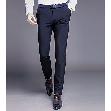 a8cb62372 بنطلون رجالي بدلة لون سادة أساسي 6960179 2019 – €39.77