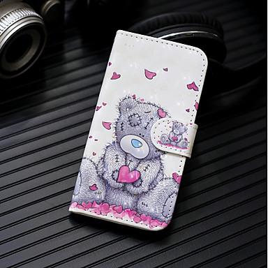 voordelige Huawei Mate hoesjes / covers-hoesje Voor Huawei Huawei P20 / Huawei P20 Pro / Huawei P20 lite Portemonnee / Kaarthouder / met standaard Volledig hoesje Panda Hard PU-nahka / P10 Lite