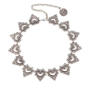 Žene Choker oglice Srce dame Lutaka Lolita Pink 35+5 cm Ogrlice Jewelry 1pc Za Dnevno Festival