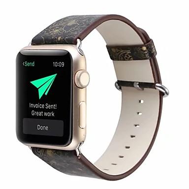 prava koža / Poli uretanska Pogledajte Band Remen za Apple Watch Series 4/3/2/1 Crna 23 cm / 9 inča 2.1cm / 0.83 Palac